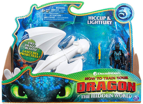How to Train Your Dragon The Hidden World Hiccup & Lightfury Action Figure 2-Pack [Version 1]
