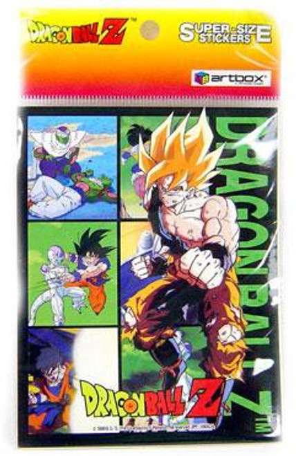 Dragon Ball Z Super-Size Sticker Set
