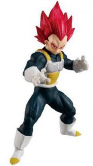 Dragon Ball Styling Super Saiyan God Vegeta 4.5-Inch PVC Statue