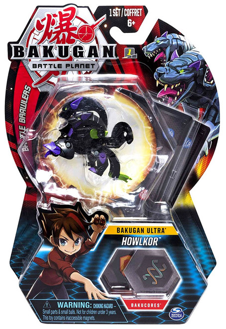 Bakugan Battle Planet Battle Brawlers Ultra Howlkor
