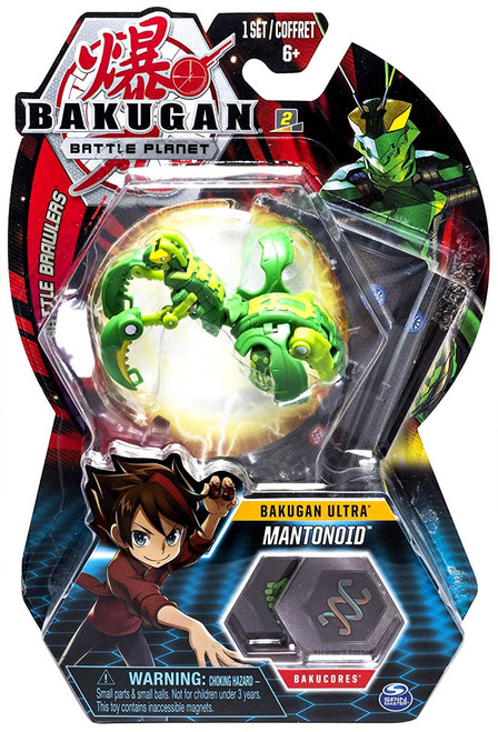 Bakugan Battle Planet Battle Brawlers Ultra Mantonoid