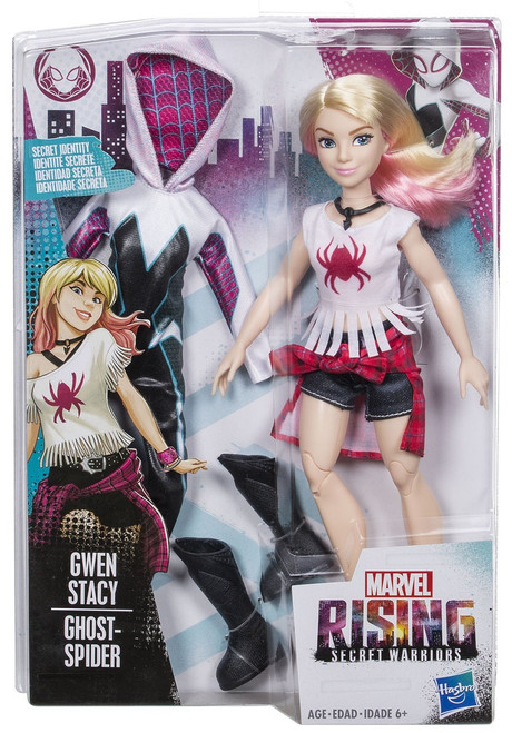 Marvel Rising Secret Warriors Secret Identity Ghost Spider Action Figure