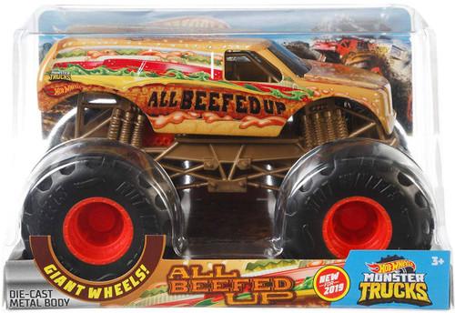 Hot Wheels Monster Trucks All Beefed Up Diecast Car