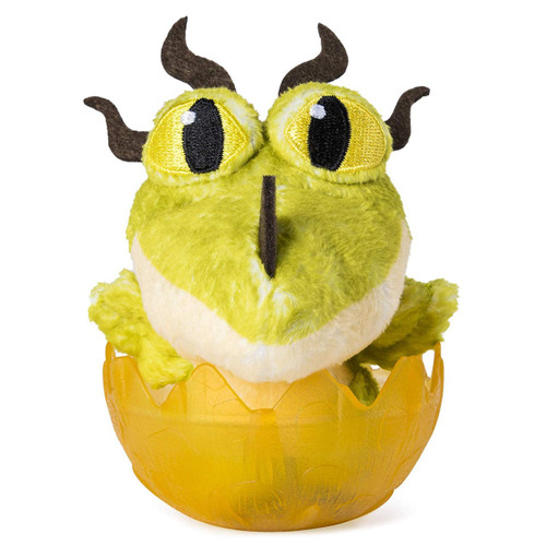 How to Train Your Dragon The Hidden World Monstrous Nightmare 3-Inch Egg Plush [Yellow]