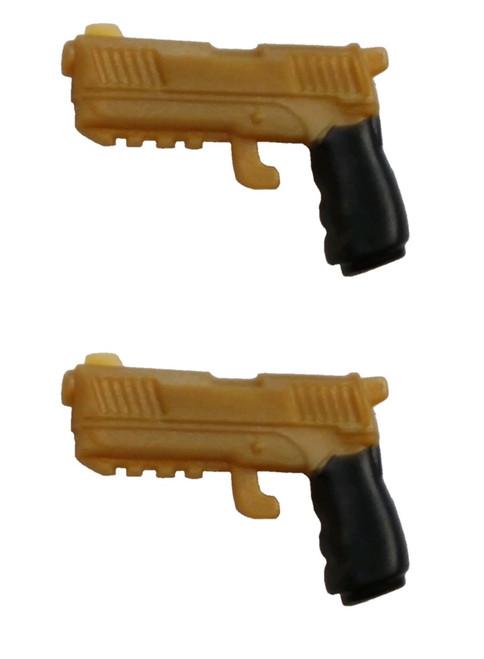 Fortnite Dual Pistols .5-Inch Legendary Figure Accessory [Gold Loose]