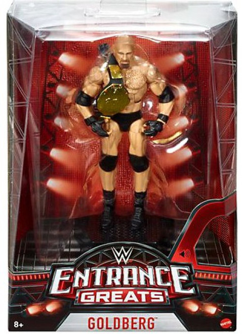 WWE Wrestling Entrance Greats Goldberg Action Figure