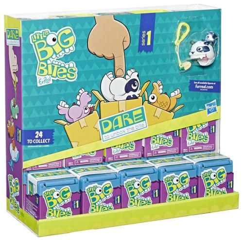 FurReal Little Big Bites Series 1 Mystery Box [Wave 2, Blue, 24 Packs]