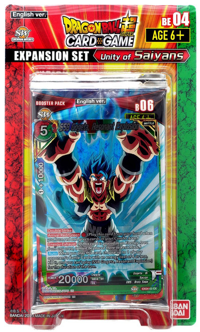 Dragon Ball Super Collectible Card Game Unity of Saiyans Expansion Set