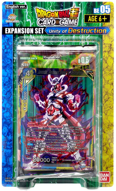 Dragon Ball Super Collectible Card Game Unity of Destruction Expansion Set