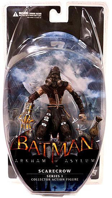 Batman Arkham Asylum Series 1 Scarecrow Action Figure
