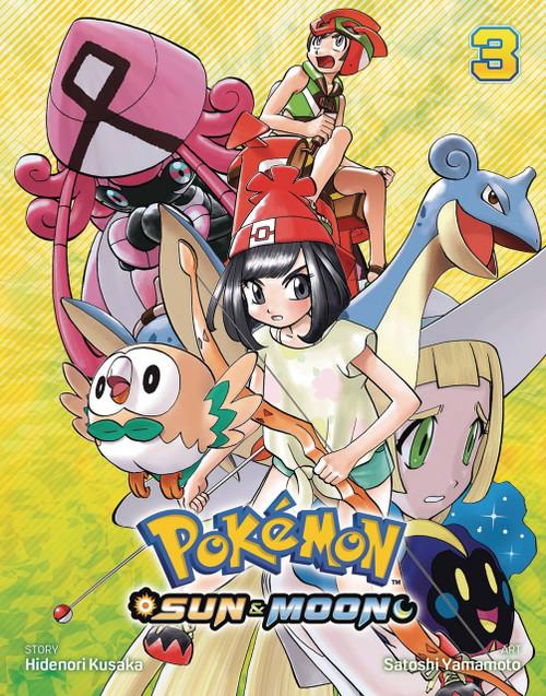 Viz Media Pokemon Sun & Moon Volume 3 Manga Trade Paperback