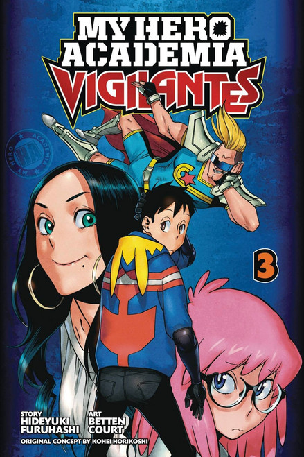 My Hero Academia Vigilantes Volume 3 Manga Trade Paperback