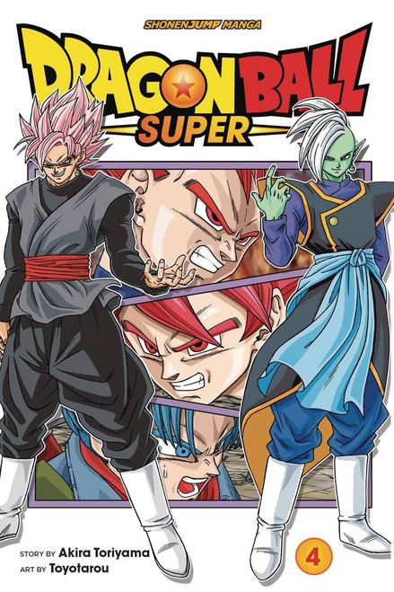 Viz Media Dragon Ball Super Volume 4 Manga Trade Paperback