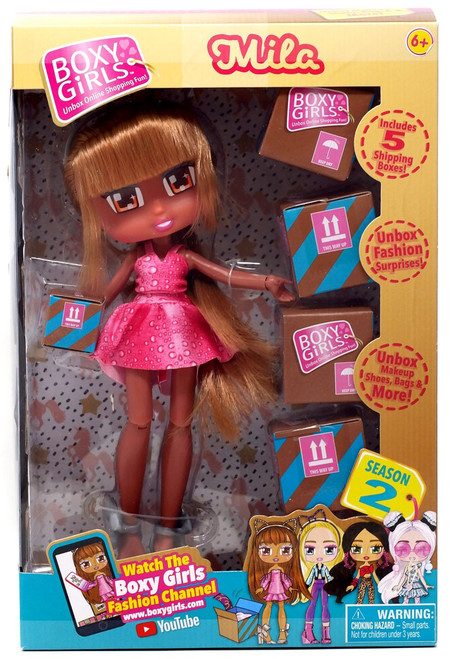 Boxy Girls Series 2 Mila Doll