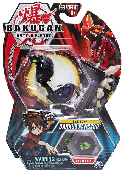 Bakugan Battle Planet Battle Brawlers Bakugan Darkus Fangzor