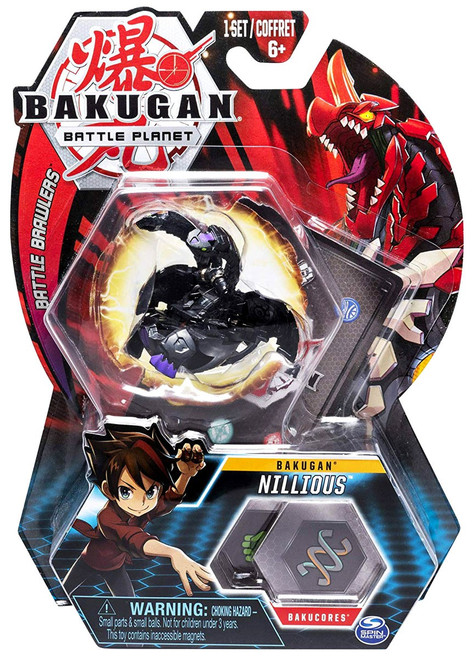 Bakugan Battle Planet Battle Brawlers Bakugan Nillious
