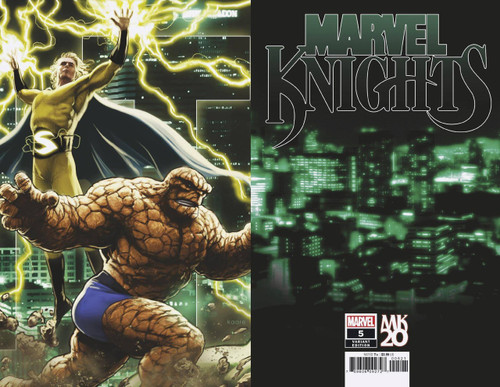 Marvel Comics Marvel Knights #5 of 6 Comic Book [Andrews Connecting Variant]