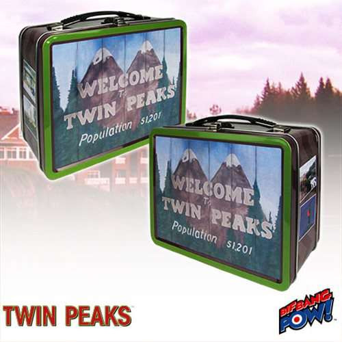 Welcome to Twin Peaks Tin Tote