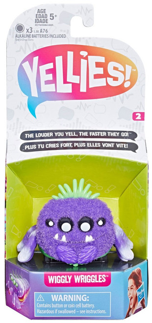 Yellies Wiggly Wriggles Fuzzy Pet Figure