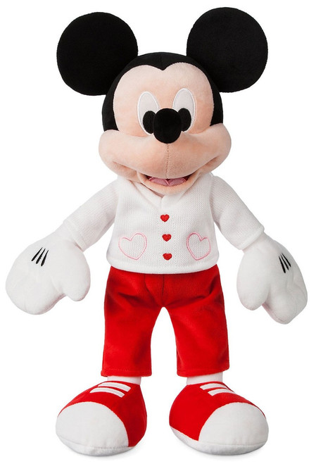 Disney 2019 Valentine's Day Mickey Mouse Exclusive 15-Inch Plush [Sweetheart]