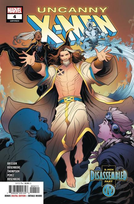 Marvel Comics Uncanny X-Men #4 Comic Book