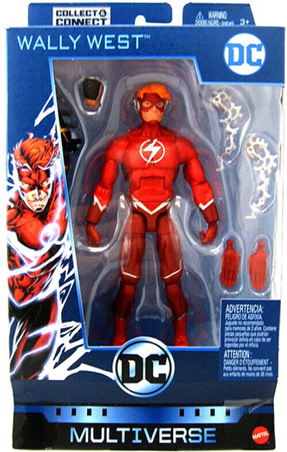DC Multiverse Batman Ninja Series Wally West Flash Action Figure