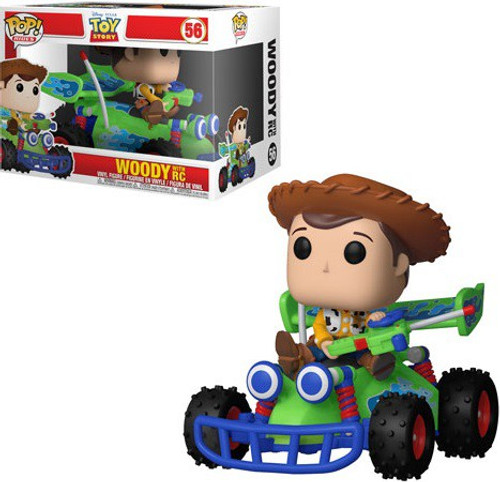 Funko Disney / Pixar Toy Story POP! Rides Woody With RC Vinyl Figure #56