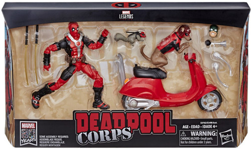 Marvel Legends Ultimate Deadpool Corps Action Figure [With Scooter]