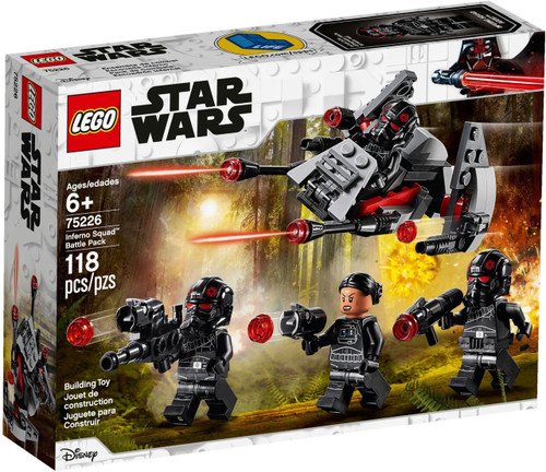 LEGO Star Wars Inferno Squad Battle Pack Set #75226