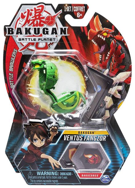 Bakugan Battle Planet Battle Brawlers Bakugan Ventus Fangzor