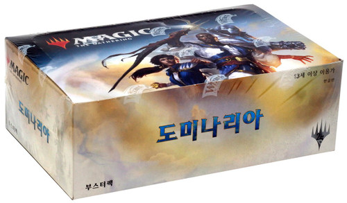 MtG Trading Card Game Dominaria Booster Box [Korean, 36 Packs]