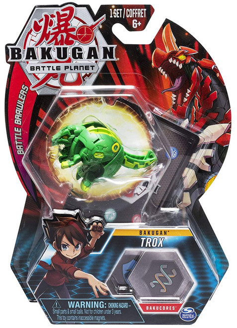 Bakugan Battle Planet Battle Brawlers Bakugan Trox