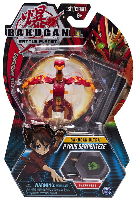 Bakugan Battle Planet Battle Brawlers Ultra Pyrus Serpenteze