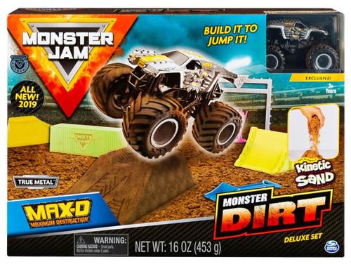 Monster Jam Monster Dirt Max-D Playset