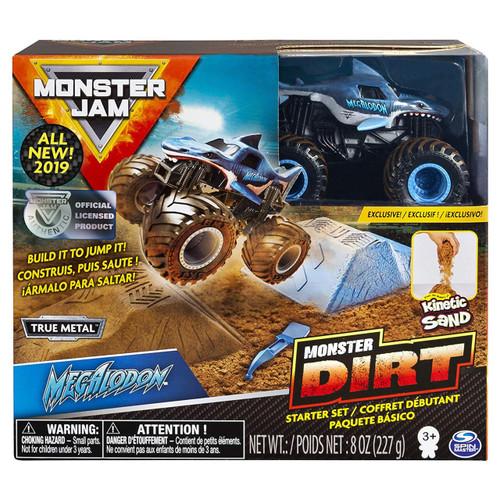 Monster Jam Monster Dirt Megalodon Starter Set [Box Style May Vary, Exact Contents!]