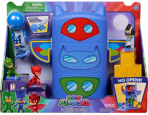 Disney Junior PJ Masks Fold N' Go HQ Playset [Headquarters]