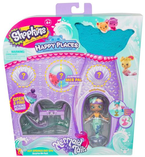 Shopkins Happy Places Season 6 Mermaid Tails Hot Springs Day Spa Surprise Me Pack [Bellafly Mermaid]