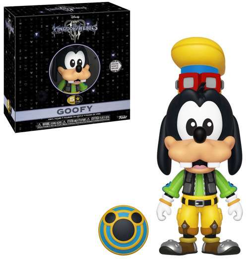 Disney Kingdom Hearts III Funko 5 Star Goofy Vinyl Figure