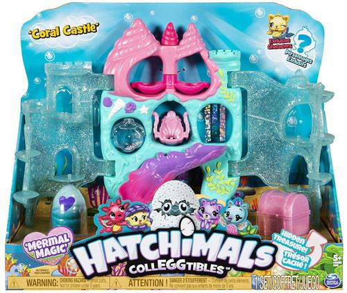 Hatchimals Colleggtibles Season 5 Mermal Magic Coral Castle Playset