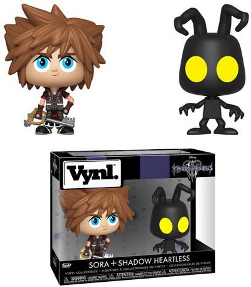 Funko Disney Kingdom Hearts III Vynl. Sora & Shadow Heartless Vinyl Figure 2-Pack
