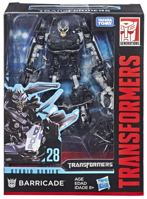 Transformers Generations Studio Series Barricade Deluxe Action Figure #28