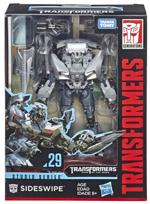 Transformers Generations Studio Series Sideswipe Deluxe Action Figure #29