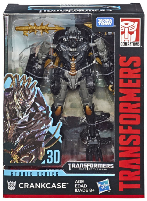 Transformers Generations Studio Series Crankcase Deluxe Action Figure #30