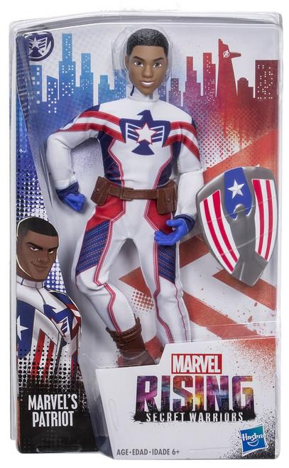 Marvel Rising Secret Warriors Patriot Action Figure