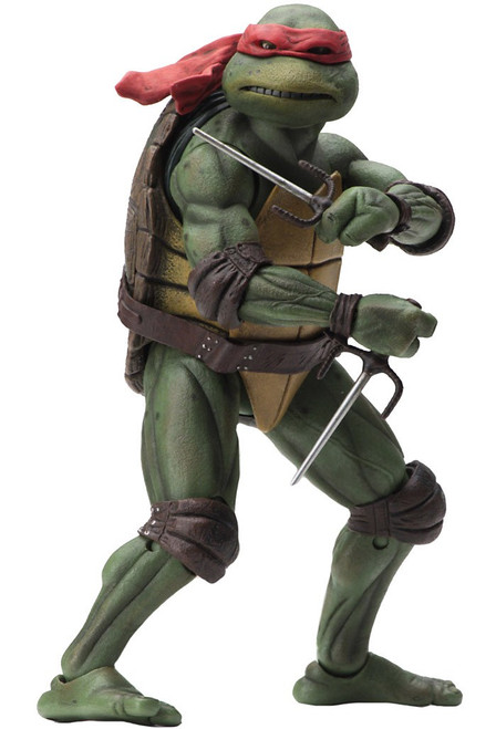 NECA Teenage Mutant Ninja Turtles Raphael Exclusive Action Figure [1990 Movie]