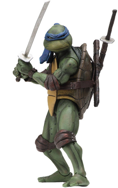 NECA Teenage Mutant Ninja Turtles Leonardo Exclusive Action Figure [1990 Movie]
