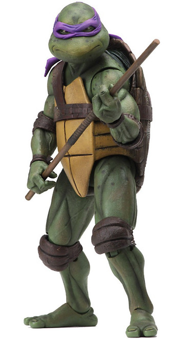 NECA Teenage Mutant Ninja Turtles Donatello Exclusive Action Figure [1990 Movie]