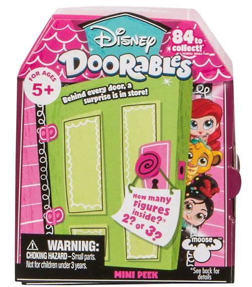 Disney Doorables Series 2 MINI Peek Mystery Pack [2 or 3 Figures]