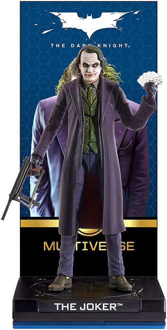 DC The Dark Knight Multiverse Signature Collection Joker Action Figure [Heath Ledger]