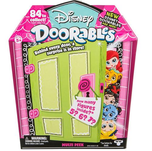 Disney Doorables Series 2 MULTI Peek Mystery Pack [5, 6 or 7 Figures]